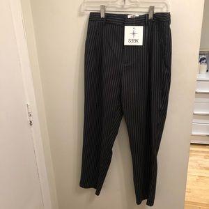 LF Striped Crop Trousers
